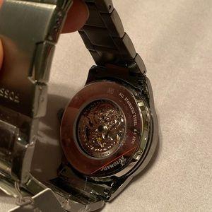 Fossil Accessories - Men's Automatic gun metal fossil watch